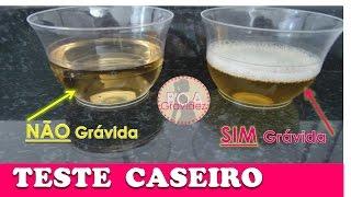 TESTE CASEIRO GRAVIDEZ - Com Água Sanitária Funciona?  Boa Gravidez