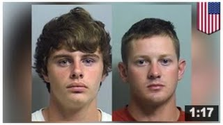 Deux hommes ont été arrêtés pour avoir vaporisé du miction sur de la marchandise