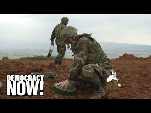 "Nobel Peace Prize Winner Jody Williams Slams Biden Admin for Claiming Landmines Are a ""Vital Tool"""