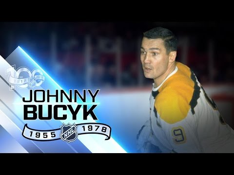 Johnny Bucyk served as captain of 'Big Bad Bruins'