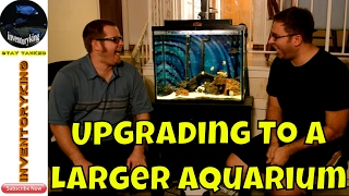 Step By Step Upgrade To A Larger Aquarium | Mbuna | Peacocks | Haps