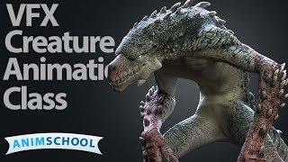 AnimSchools' new VFX Creature character, Grave