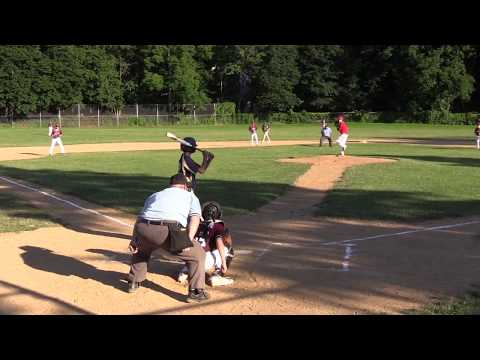 New York Heat vs Cadets Baseball Academy Gold 13U Baseball NYEB 6-26-17