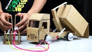 How to Make Amazing Hooklift Truck - Powered Hooklift Truck DIY