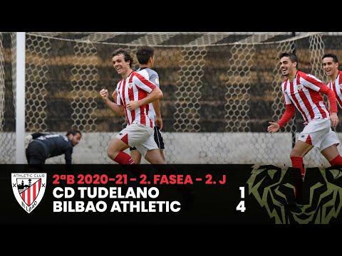 ⚽ Resumen I 2. Fasea – 2. J – 2ªDiv B I CD Tudelano 1-4 Bilbao Athletic I Laburpena