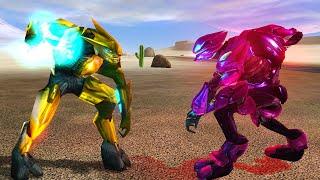 Halo 1 Elites VS Silent Shadow