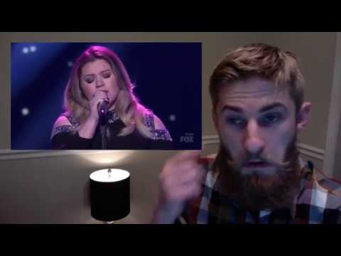 Kelly Clarkson - Piece By Piece *American Idol The Farewell Season (REACTION)