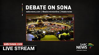 MEMBERS' DEBATE STATE OF THE NATION ADDRESS