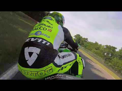 Onboard World Supersport Kawasaki ZX-6R - Rob Hartog - Circuit Zolder