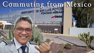 Airline Pilot Commuting from Mexico