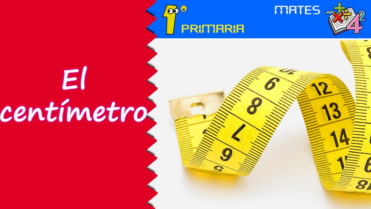 Matemáticas. 1º Primaria. Tema 2: El centímetro
