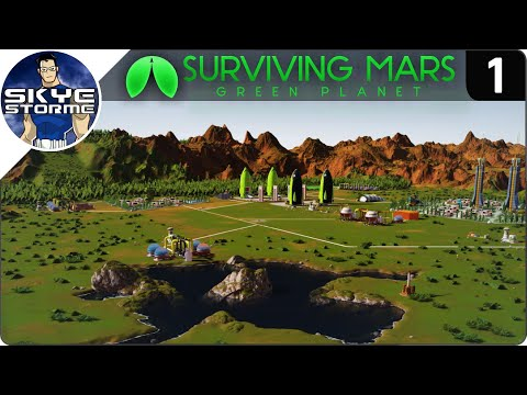 Surviving Mars Green Planet DLC - SUPER FAST STARTING STRATEGY - Tips & Tricks!