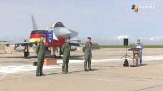 Constanţa: Forţele aeriene germane, britanice şi române - exerciţiu comun de Poliţie Aeriană Întărită