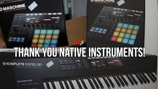 Native Instruments Sent Me The Maschine MK3 & Komplete Kontrol MK2