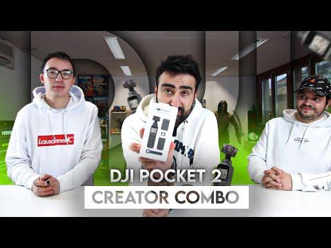 On déballe la caméra 4K DJI Pocket 2 Creator Combo