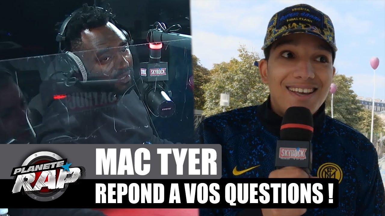 Mac Tyer CHAUD au BASKET ? Il répond à VOS questions ! #PlanèteRap