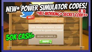 roblox power simulator codes all - TH-Clip