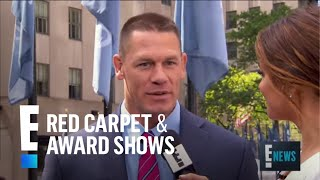 "John Cena Calls His Instagram a ""Digital Art Gallery""   E! Live from the Red Carpet"