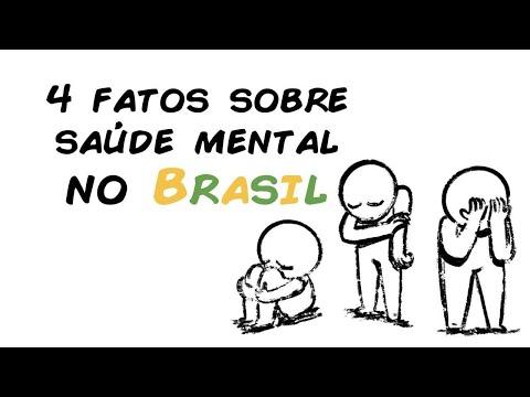 4 FATOS SOBRE A SAÚDE MENTAL NO BRASIL