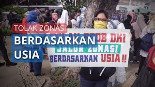 Video Aksi Orang Tua Siswa Tolak PPDB Berdasarkan Usia