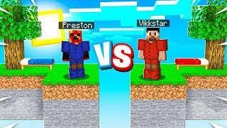 The ULTIMATE Minecraft Sky Block Battle! (Red vs Blue)