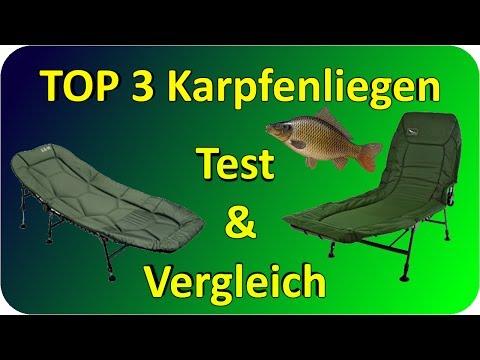 Karpfenliegen TEST & Vergleich | Top 3 Karpfenliegen Testbericht/Kaufempfehlung