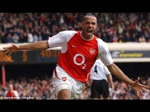 Thierry Henry ● Best Arsenal Goals With English Commentary