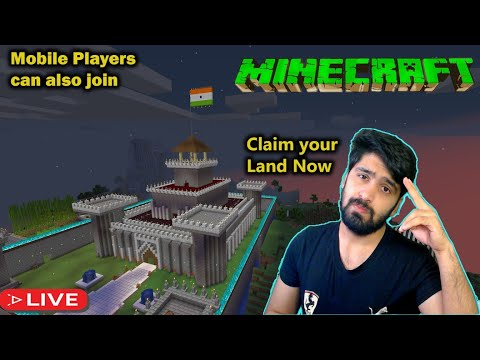 Mobile & pc players can join |New Graphics | Minecraft in Telugu & Hindi !Giveaway