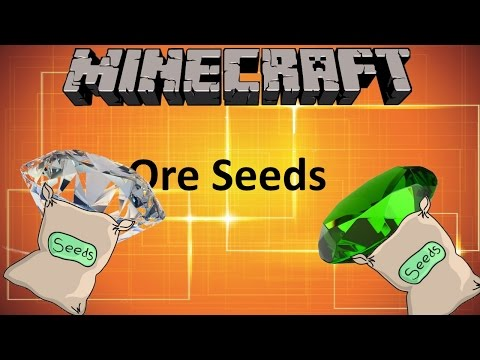 Minecraft: ORE SEEDS MOD