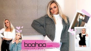 HUGE NEW IN AUTUMN/WINTER BOOHOO TRY ON HAUL! WITH DISCOUNT CODE