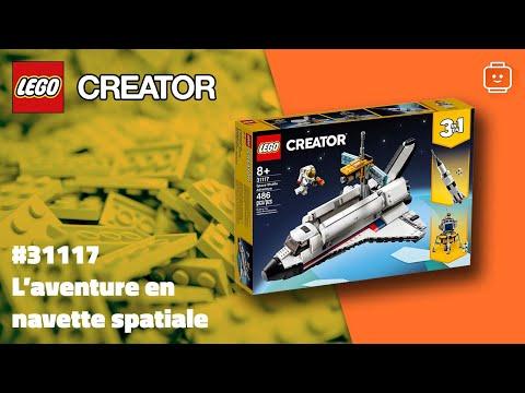 Vidéo LEGO Creator 31117 : L'aventure en navette spatiale