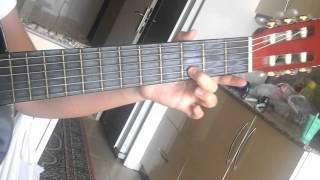 Caddelerde Rüzgar Gitar Notaları (solo)