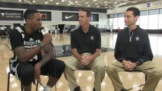 Rondae Hollis-Jefferson Talks About Brook Lopez and Jeremy Lin