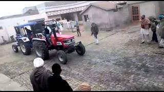 Farmtrac 6055 & arjun 605 tochan