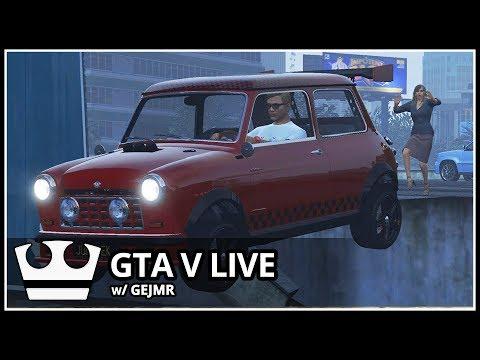 Jirka a GEJMR  hraje - GTA V Online - Poprvé z nového bytu [ LIVE ]