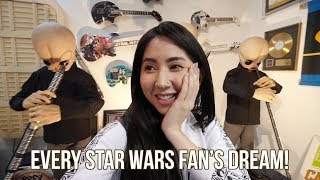 Biggest STAR WARS collection in the world! It was ENORMOUS!!! 😱 (Rancho Obi-Wan)