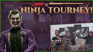 The Joker Got The Last Laugh In Our MK11 Ninja Tourney!