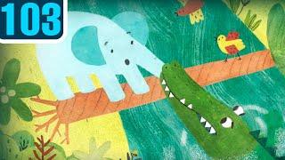 Волшебный фонарь — Любопытный слонёнок — Серия 103