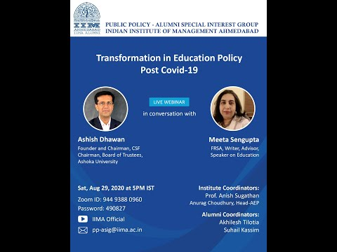 Transformation in Education Policy post Covid-19