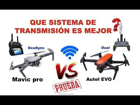 prueba-campo-real--de-transmisión-mavic-pro-vs-autel-evo-en-español