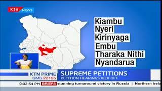 Supreme Court hears petitions challenging election of President Uhuru Kenyatta