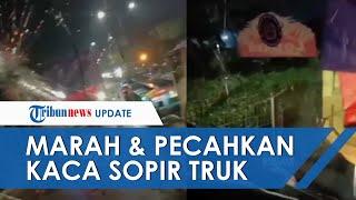 Imbas 49 Pelaku Pungli Ditahan Polisi, Preman Tanjung Priok Marah hingga Pecahkan Kaca Truk