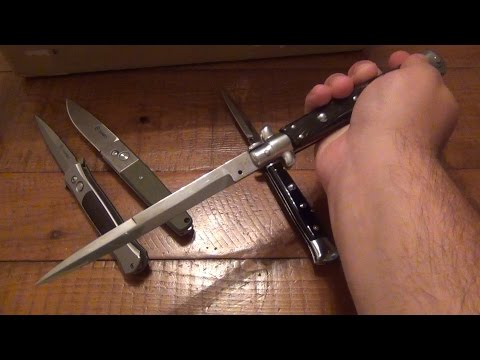YouTube Mail : New Automatic Knives & Silver Small…