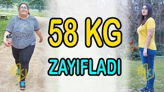 58 Kilo Zayıfladı! Nazlıcan