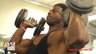Breon Ansley's Pre-Contest Workout – Part 1
