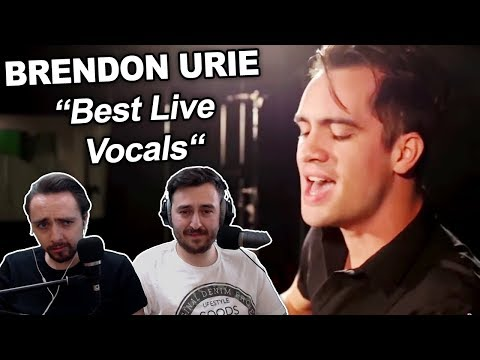 """Brendon Urie's Best Live Vocals"" Singers REACTION"