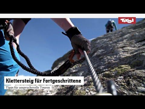 Klettersteig für Fortgeschrittene|Tipps für anspruchsvolle Touren