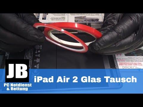 iPad Air 2 Display / Glas tausch mit Tips & Tricks. Kann ich nur das Glas tauschen?