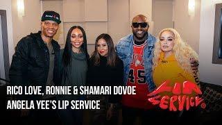 Angela Yee's Lip Service Ft. Ronnie  Shamari Devoe and Rico Love