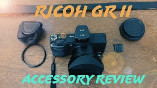 Ricoh GR II Accessory Review.